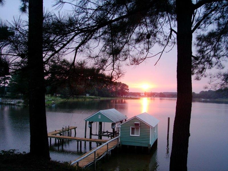 Boat House and Sunsets