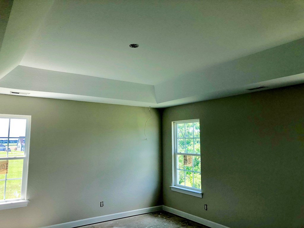 Master Bdrm with Tray ceiling