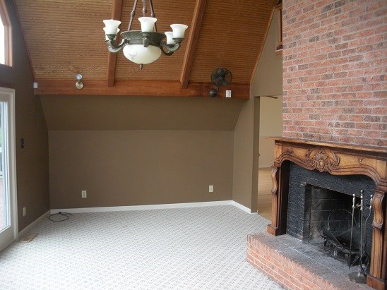 Family Room-Fireplace