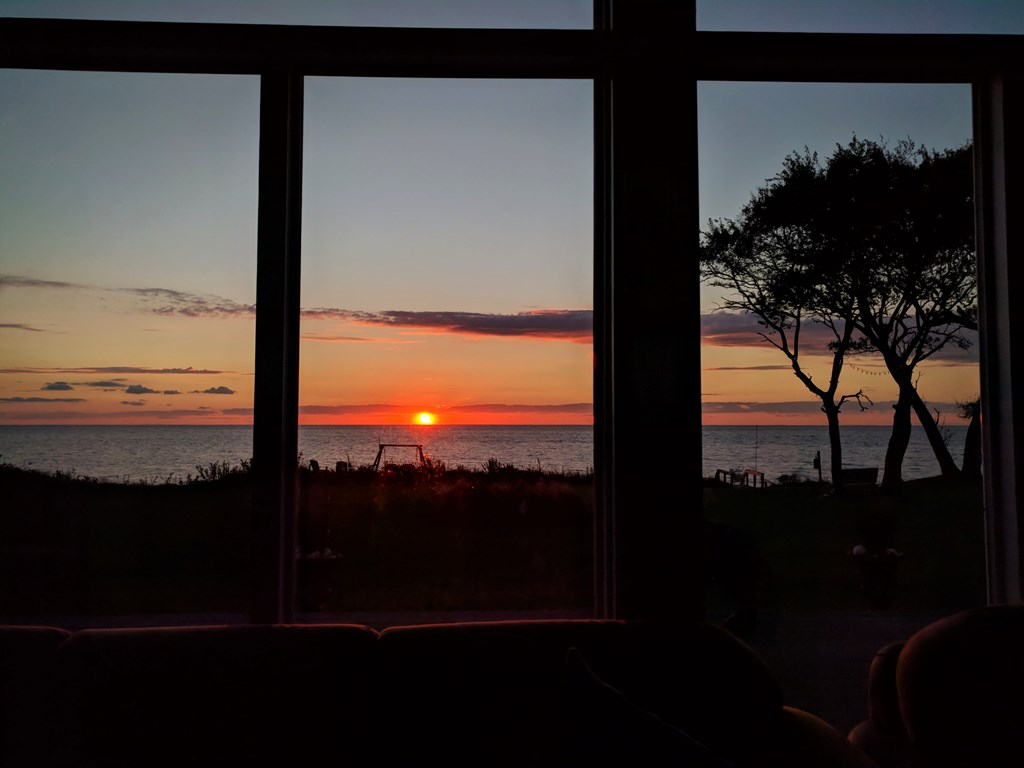 Sunsets from the Living Room