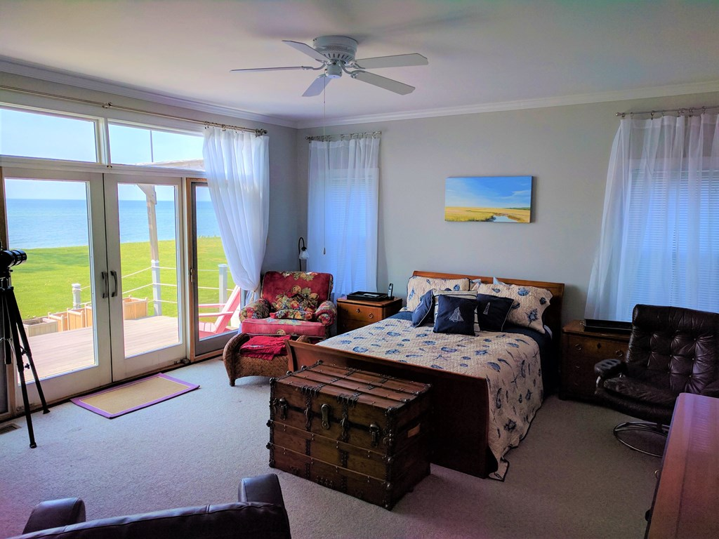 Large Master Bedroom with Views of the Bay