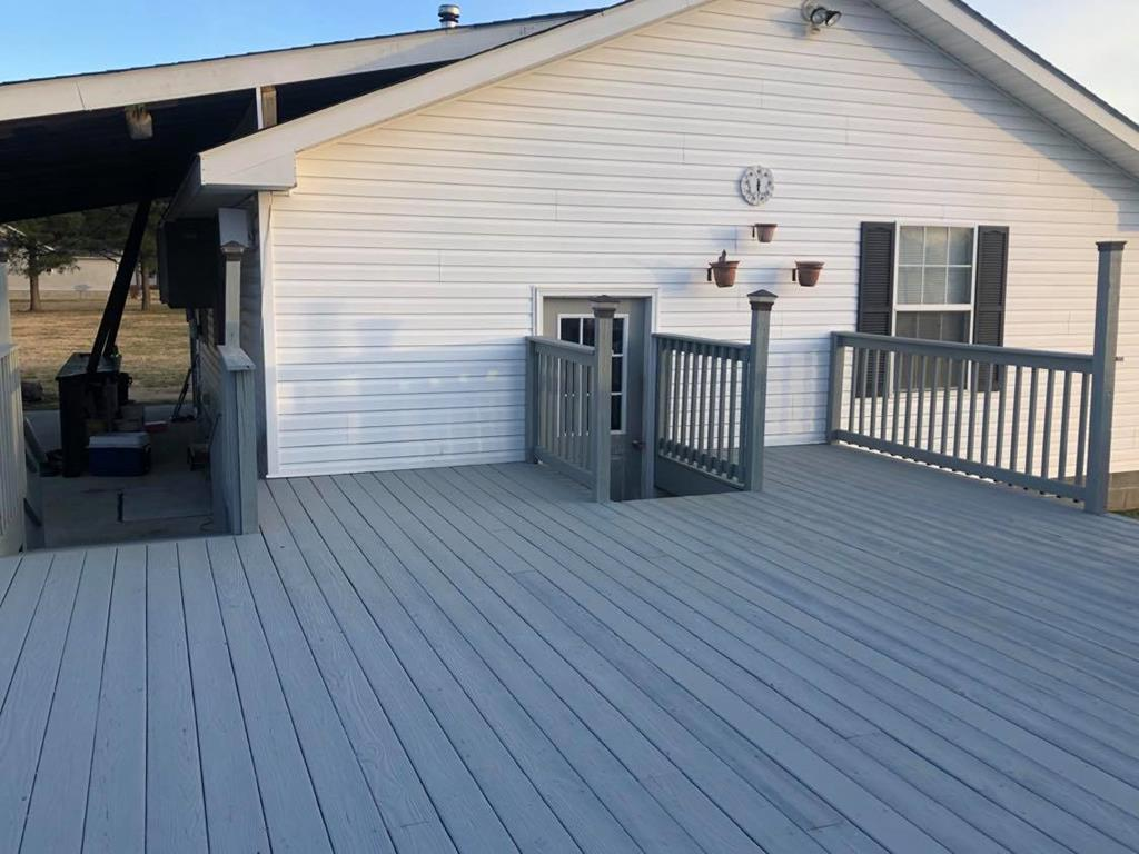 Deck to Garage